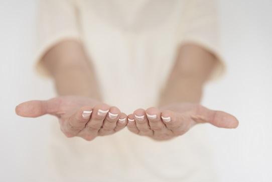 Ritual de cuidados com as suas mãos