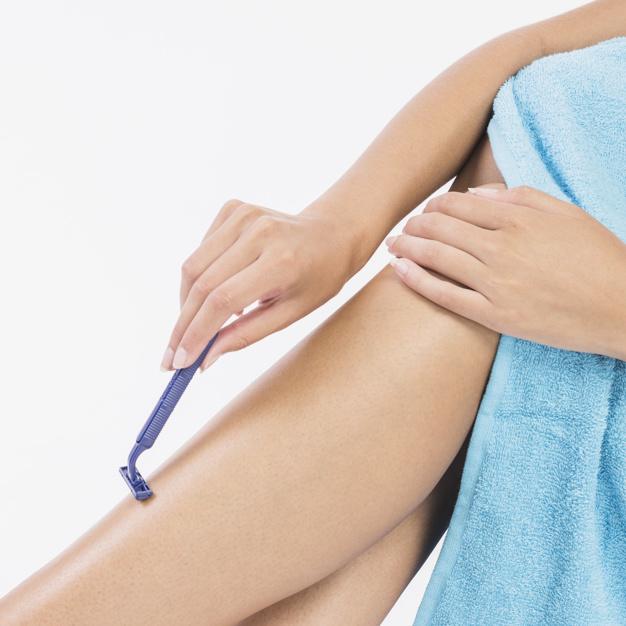 Mitos da depilação com lâmina