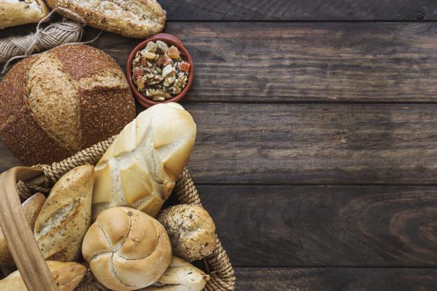 Que tipo de pão deve escolher?