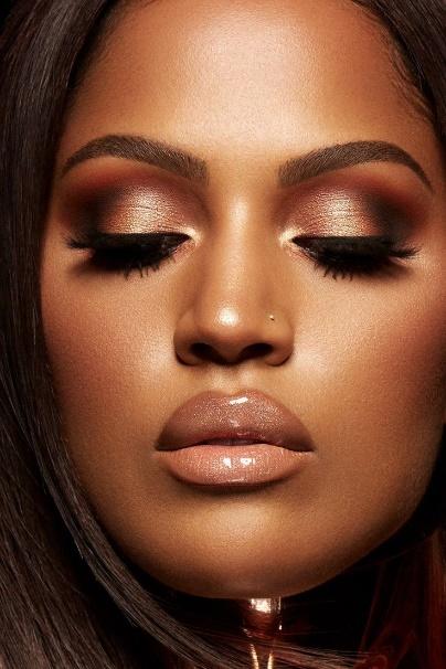 5 Ideias de maquilhagem simples para pele negra